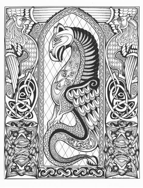 Celtic Dragonsm