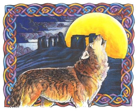 Wolf & Stones Colour