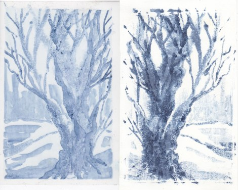 Monoprint tutorial 6