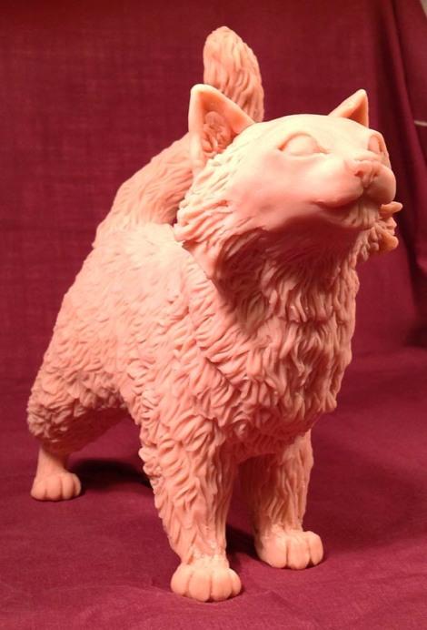 Spammy has fur!