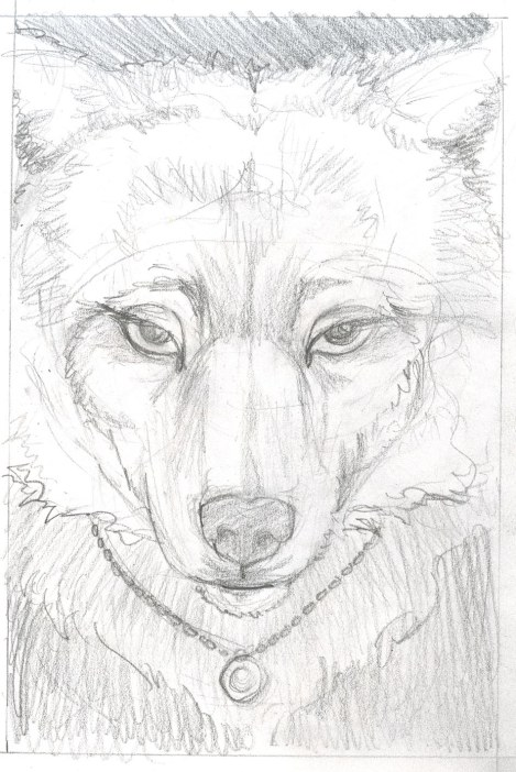 Next I tried a girly-looking wolf. The long eyelashes, right? No? *sigh* This one didn't work either.