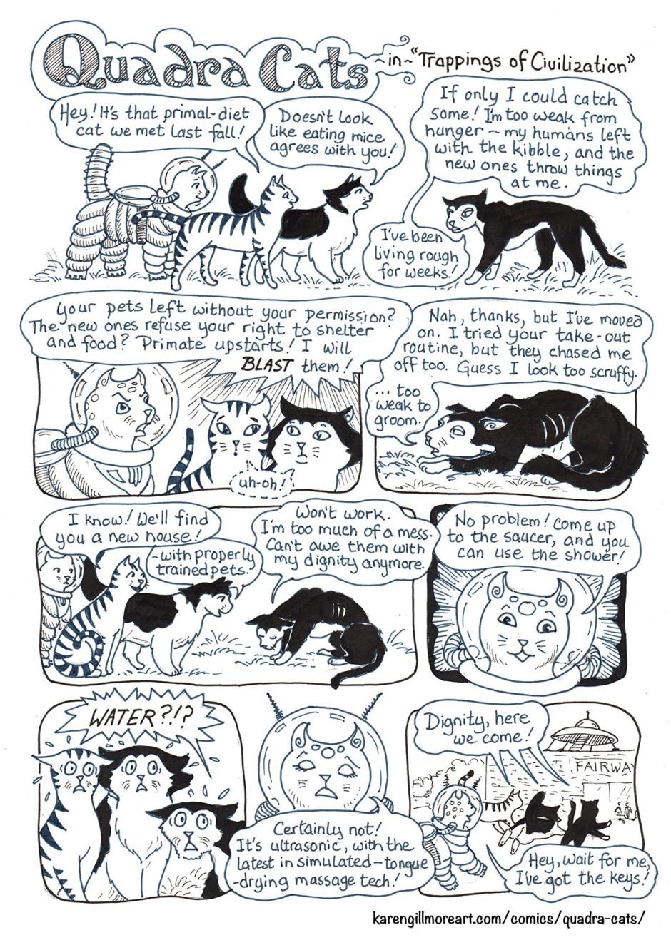 Quadra Cats civilization