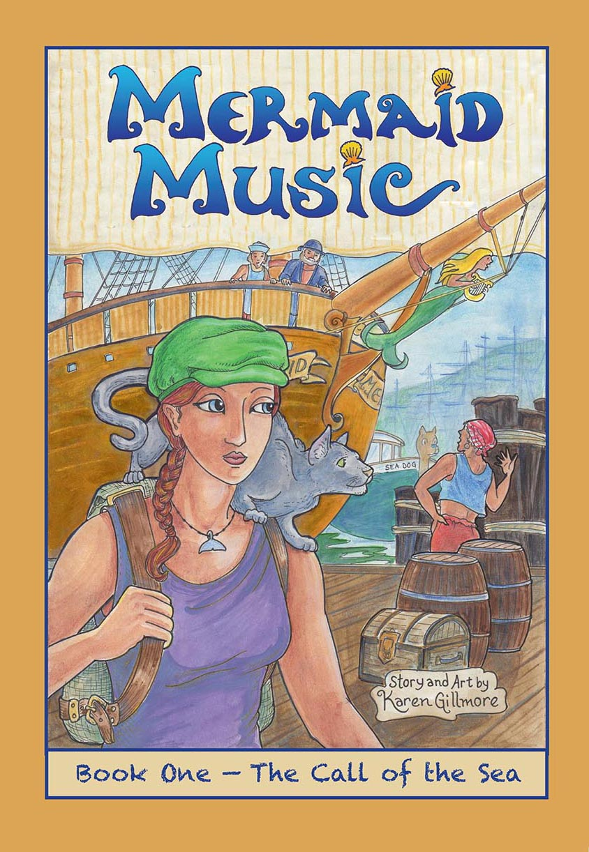Mermaid Music, Book One cover