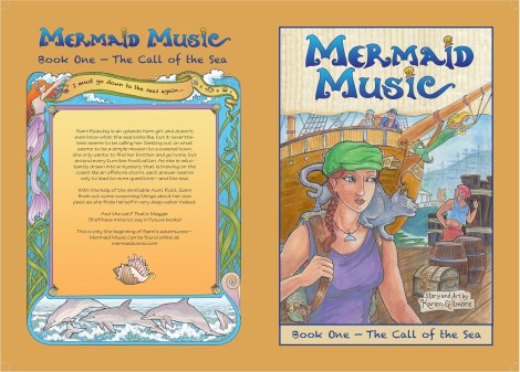 The cover for Mermaid Music, both sides.