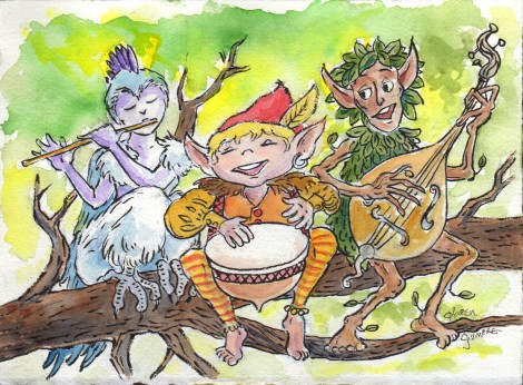 Let's rock the forest, elves!