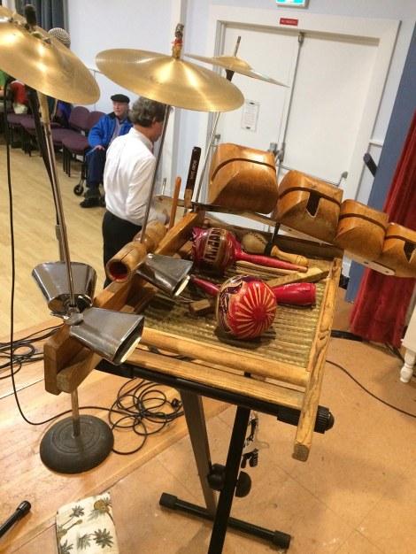 Definitely percussion for the multi-tasker!