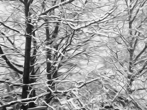 snow oil paint5