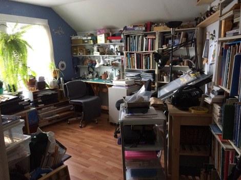 1 studio from door