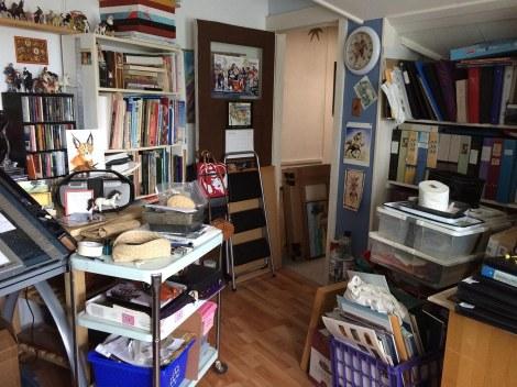 9 studio toward door